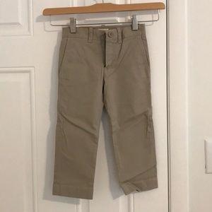 Boys J Crew khaki pants size 3T